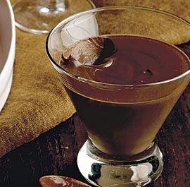 Bittersweet Chocolate Pots de Creme