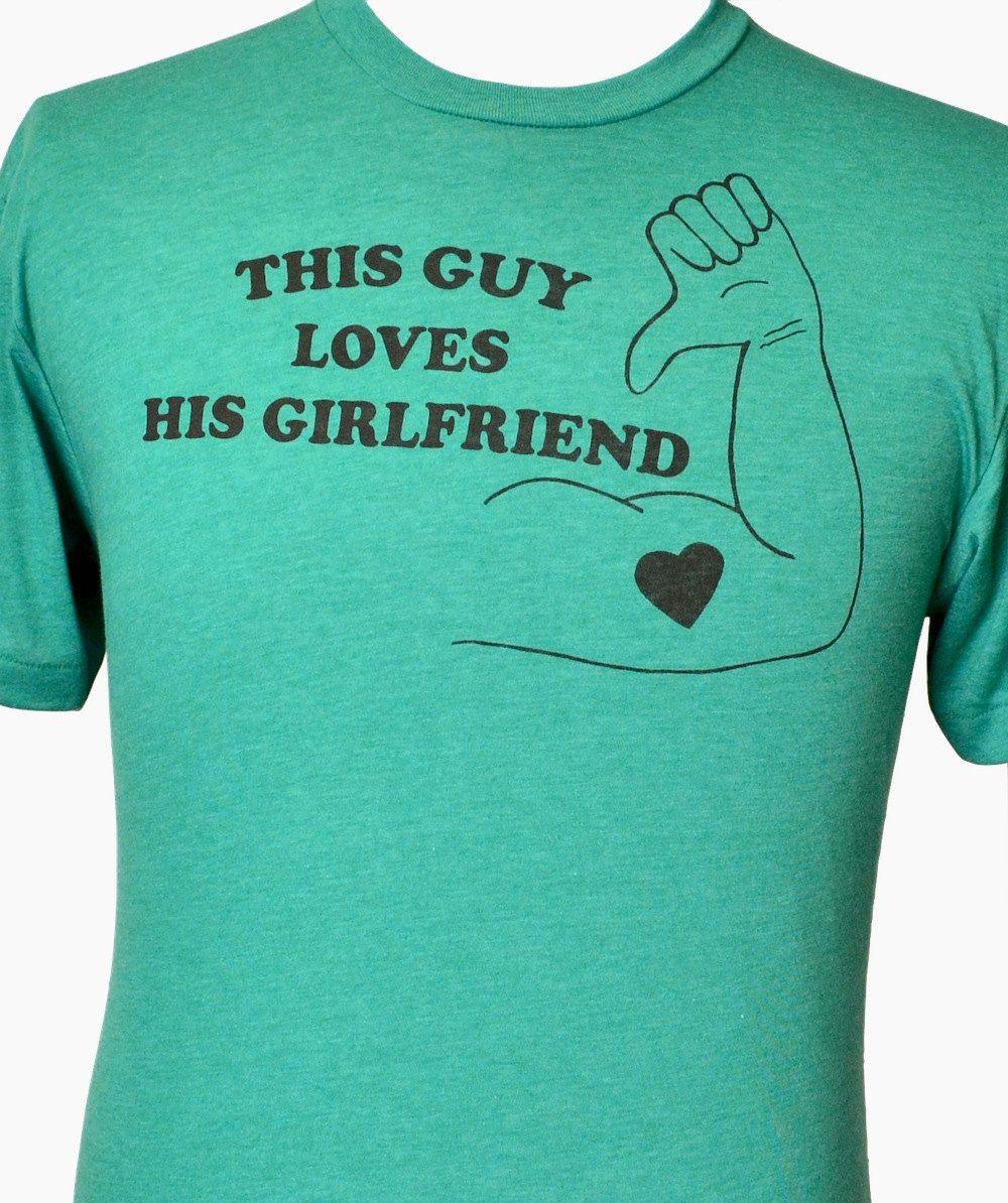 I LOVE MY GIRLFRIEND MENS T SHIRT FUNNY VALENTINES DAY BOYFRIEND GIFT VEST
