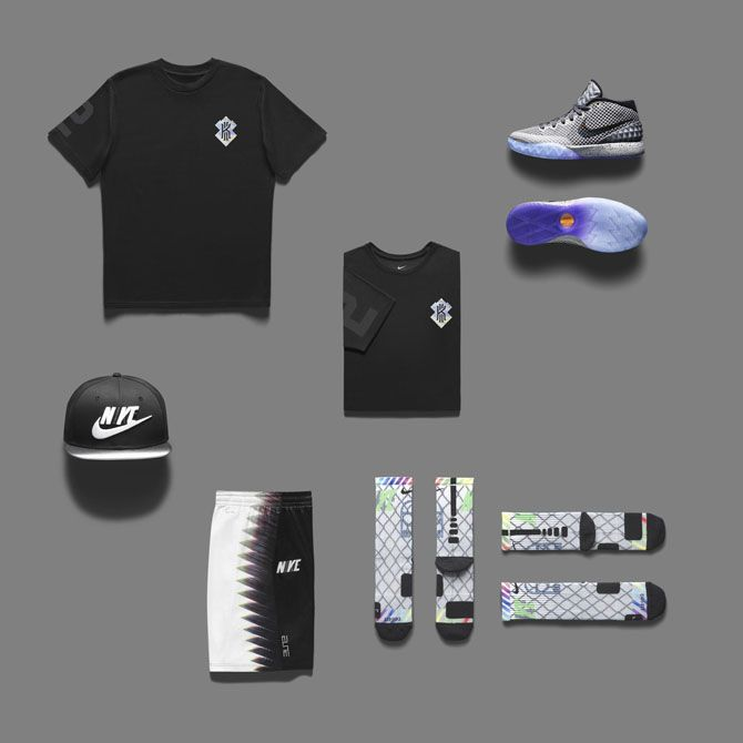 sells c38a5 3f09a Nike Kyrie I All-Star Clothes Pack