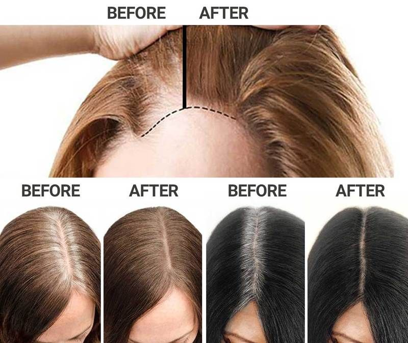 Sevich Hairline Root Touch Up Powder Glamtouche Root Touch