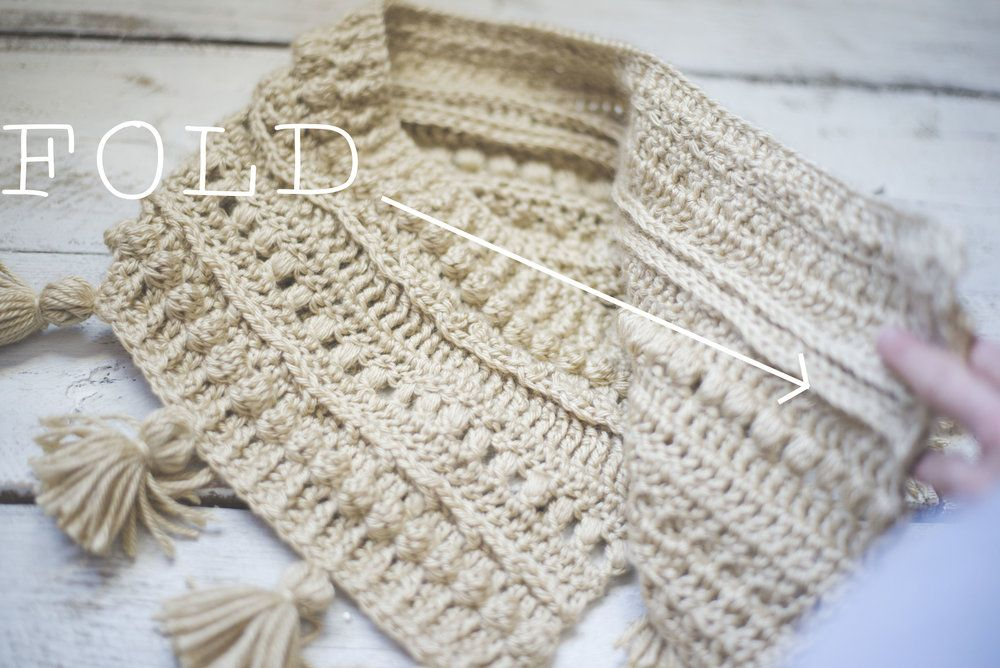 Free Crochet Pattern for the Textured Boho Cowl — Megmade with Love ...
