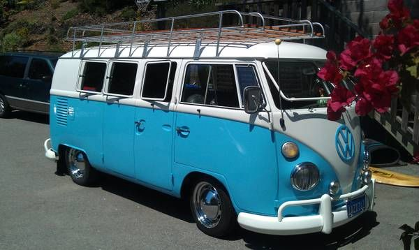 11 window vw bus b coches con estilo pinterest for 11 window vw bus