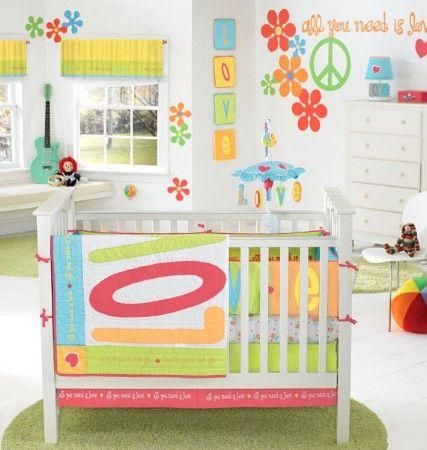 decoracion unisex para el cuarto del bebe by