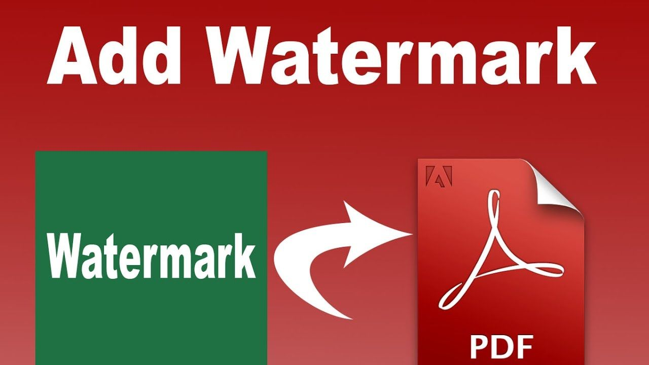 How To Add Or Create Watermark In Pdf By Using Adobe Acrobat Live Cycle Ads Acrobatics Pdf
