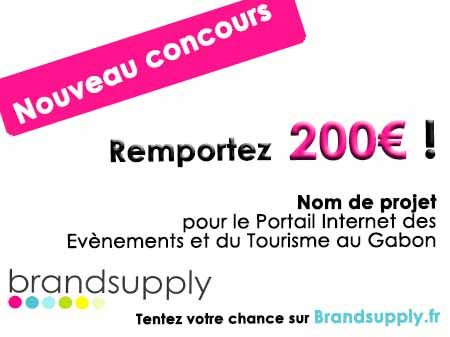 Nouveau concours international de nom de projet !  http://www.brandsupply.fr/nom_produit/recherche-un-nom-pour-le-portail-internet-des-evenements-et-du-tourisme-au-gabon/designs/22156
