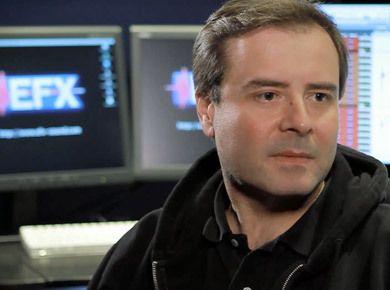Interview du chef monteur son Frédéric Dubois