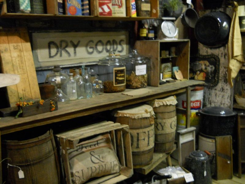 Farmstead General Store  Country decor rustic, Old country stores
