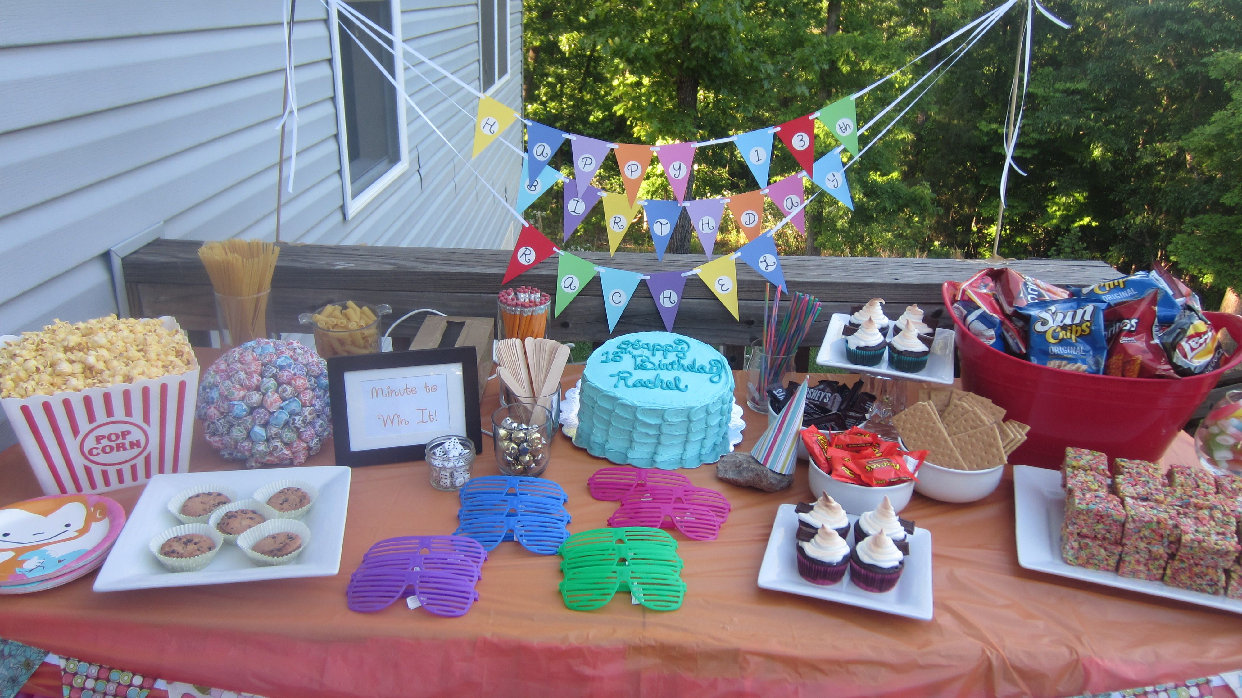 Teen Birthday Party Ideas Pinterest