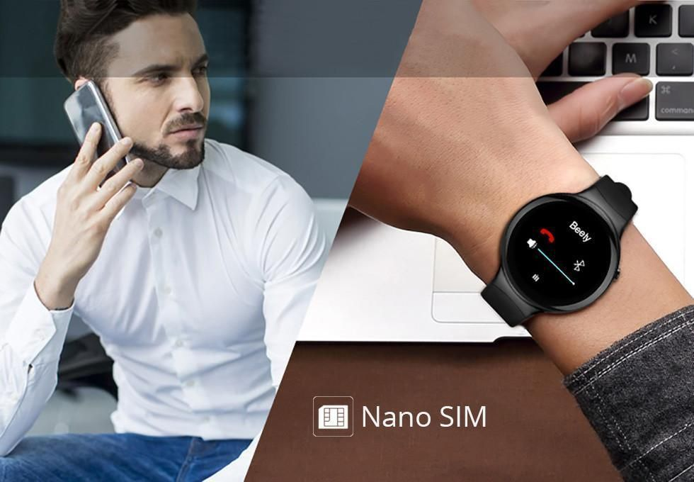 Smart Watch English / Hebrew Android Fitness tracker app