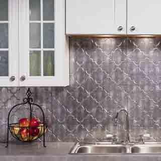 دیوارپوش آشپزخانه, دیوارپوش بین کابینت   Backsplash panels ...