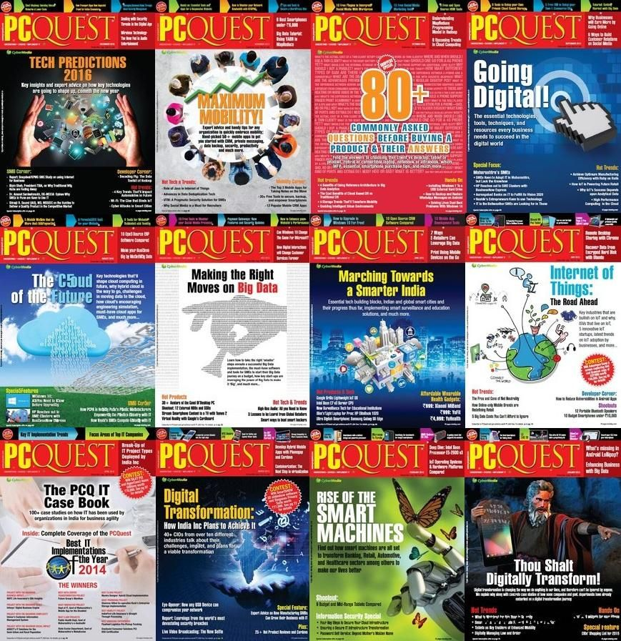 PCQuest 2015 Full Year Issues Collection Free eBooks