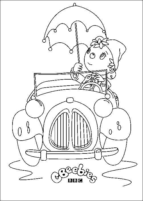 Coloriage Oui Oui.Coloriage Enfant Oui Oui Pour Enfants A Imprimer Gratuitement