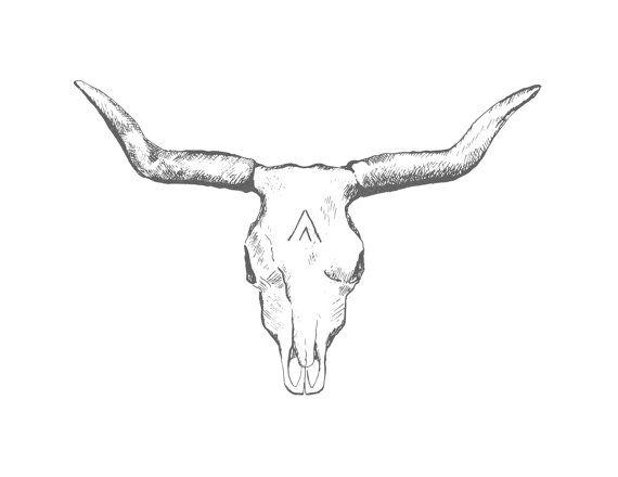 longhorn skull print 14 art pinterest skull print printing rh pinterest com longhorn bull skull tattoos longhorn skull tattoo designs