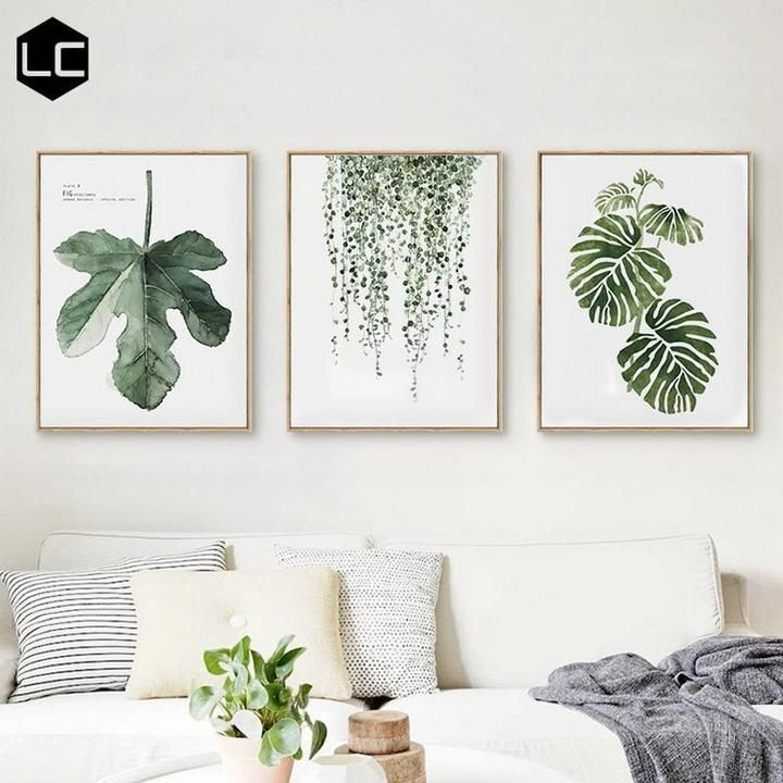 Scandinavian Fig Leaf Wall Art is part of Scandinavian Fig Leaf Wall Art Turtle Leaf - This Scandinavian style leaf art print will bring some green to your living space It is made out of canvas and does not come with a frame  MaterialCanvas MediumWaterproof Ink FrameNo StretchedNo Series A