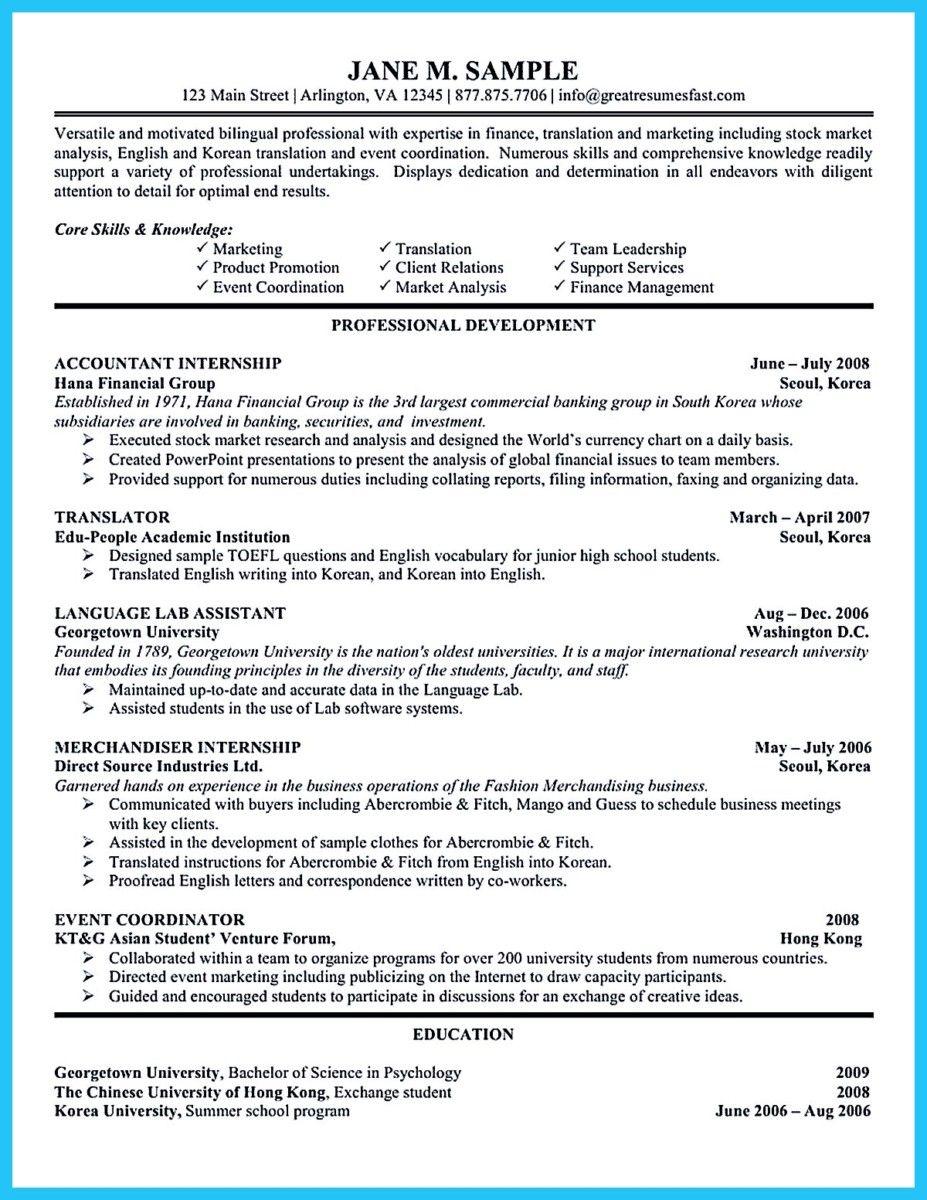 Nice Sample For Writing An Accounting Resume Resume Examples Job Resume Format Job Resume