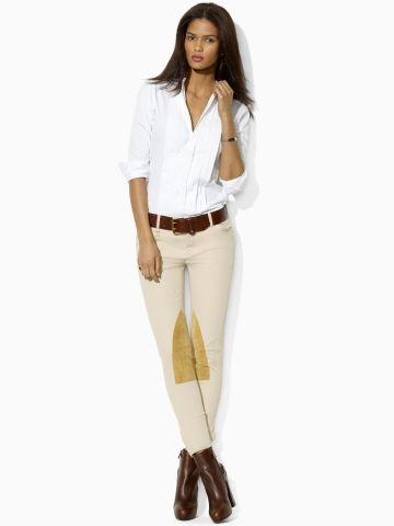 Chemise jean femme ralph lauren