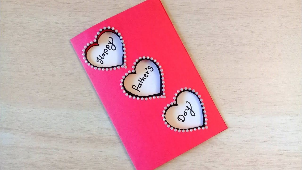 Father S Day Diy Card Easy And Beautiful Father S Day Card Idea