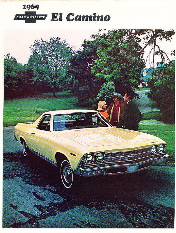 1974 Chevrolet El Camino Metal Sign Vintage Look Reproduction