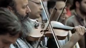 This beautiful video of an orchestra coming together on city streets will warm your heart. Like so many powerful things, it just begins with one person, and then build to become something great!