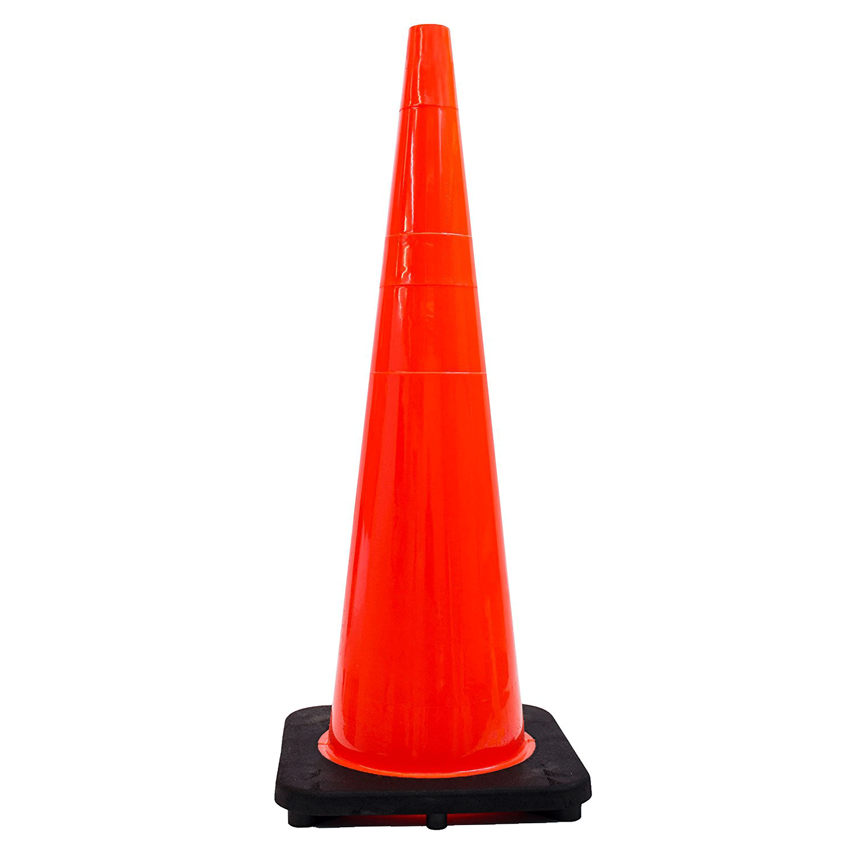 """(Set of 6) 36"""" Orange Traffic Cones Lava lamp, Utility"""