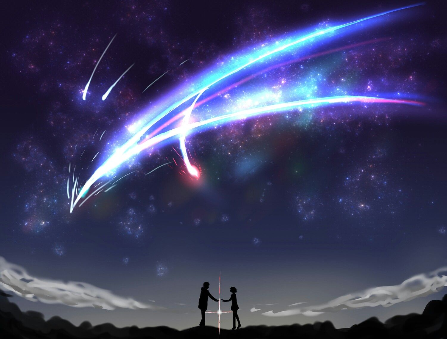 Falling like the star Your name anime, Kimi no na wa