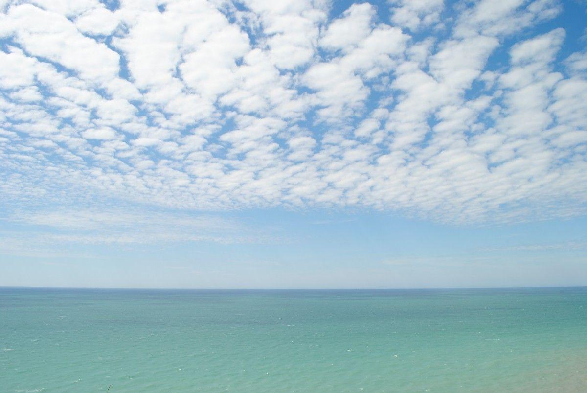 صورة عالية الدقة خالية من البحر السماء الأزرق التدرج السحب الأفق النهار السحابة المحيط Outdoor Clouds Photo