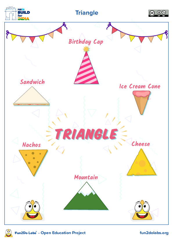 Teaching Shapes To Kids Teaching Shapes Shapes Preschool Triangles Kindergarten