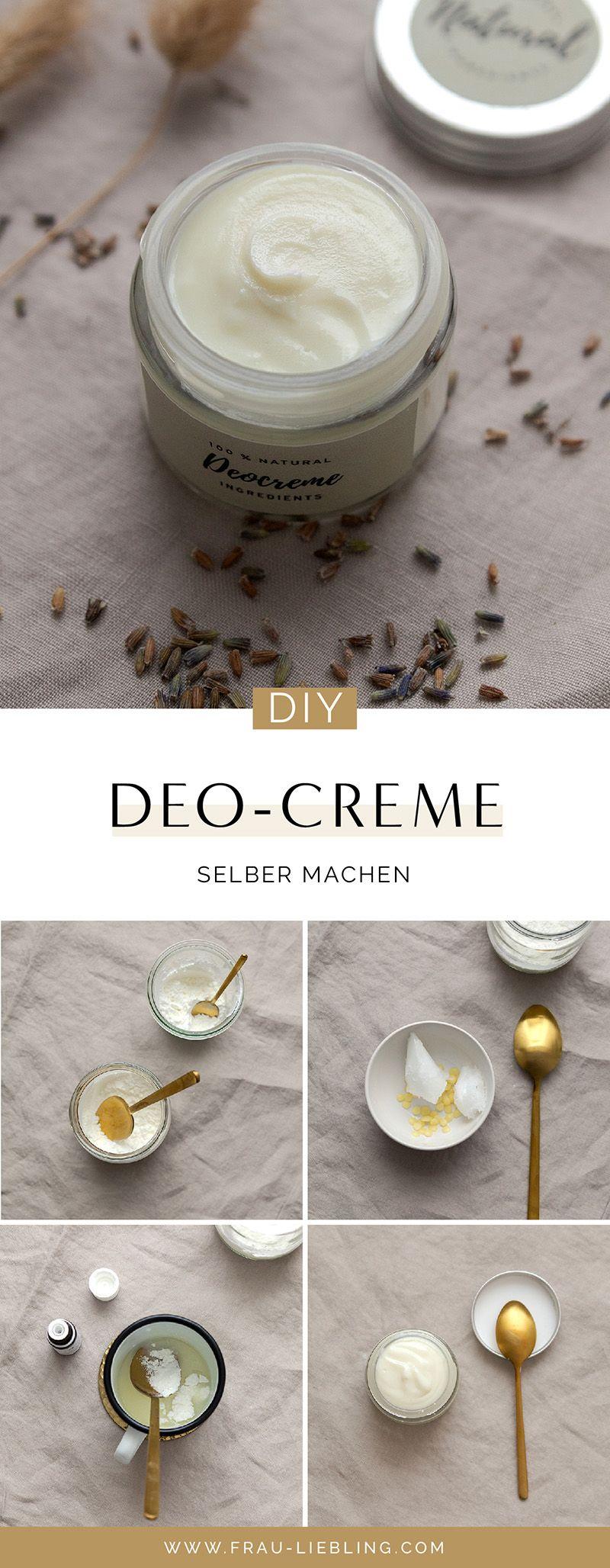 DIY Deocreme mit 4 einfachen Zutaten selber machen