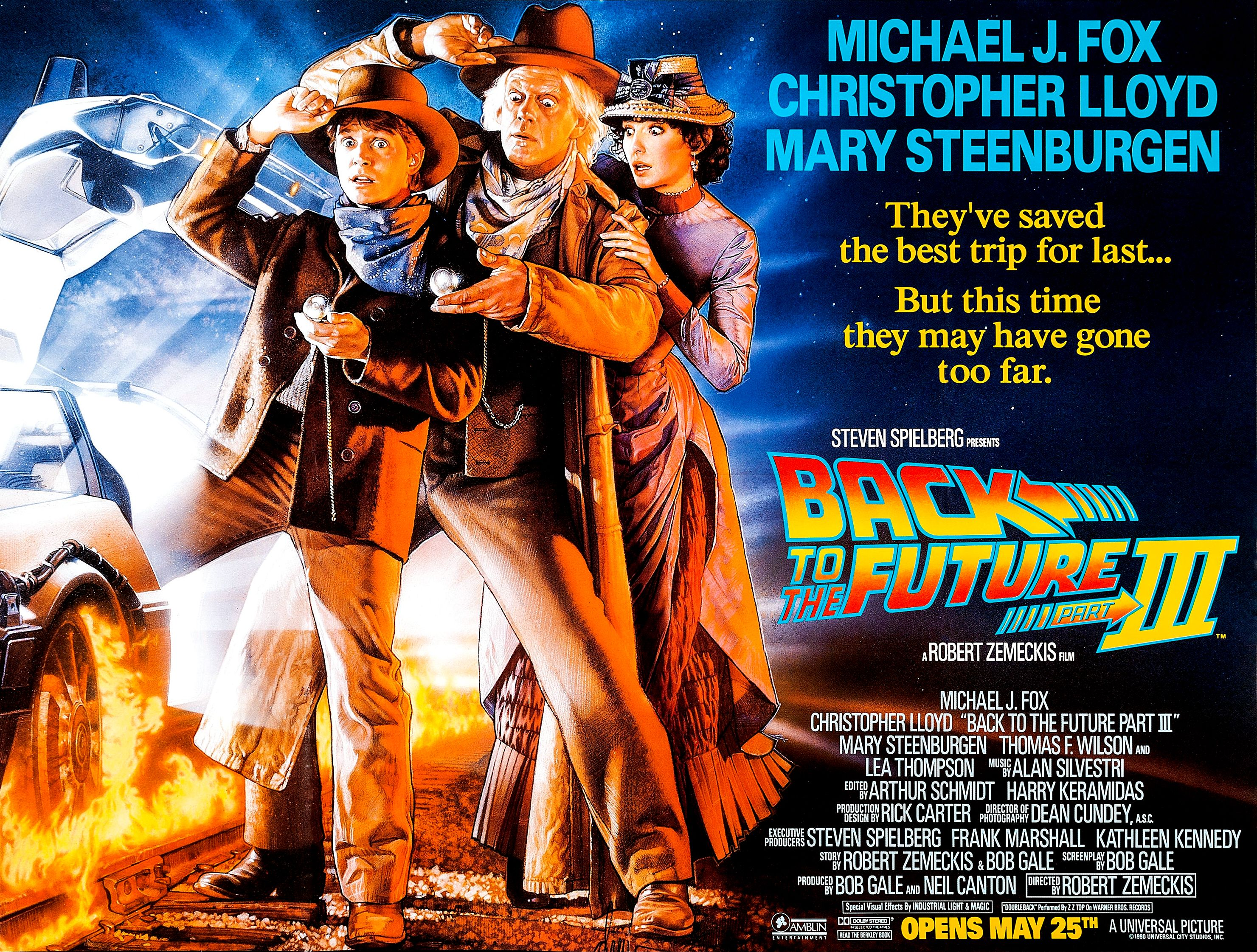 Back To The Future Part Iii 1990 Restoration Performed By