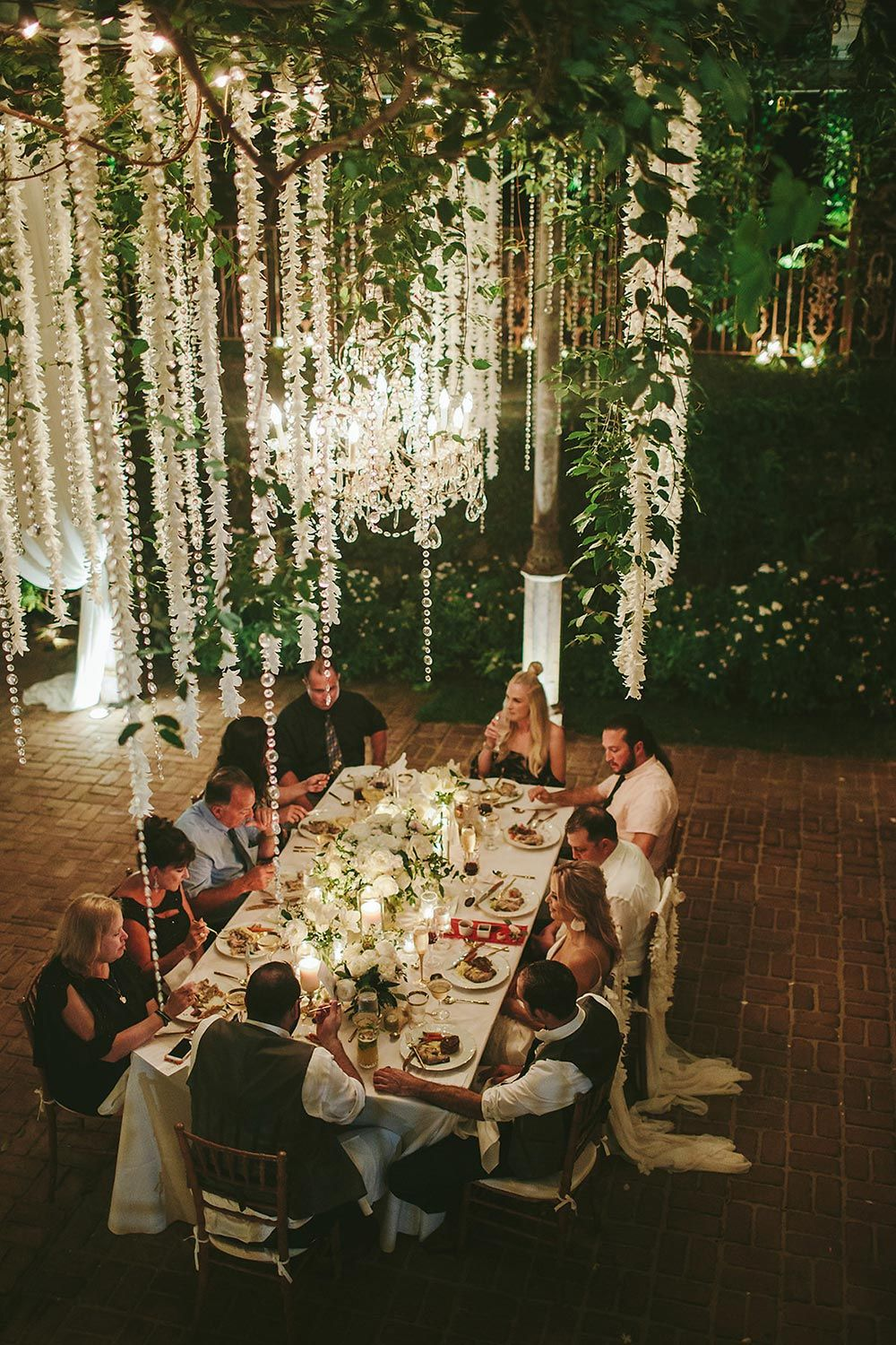 Intimate Maui Wedding With An Orchid Flower Canopy Ruffled In 2020 Haiku Mill Wedding Intimate Wedding Reception Small Intimate Wedding