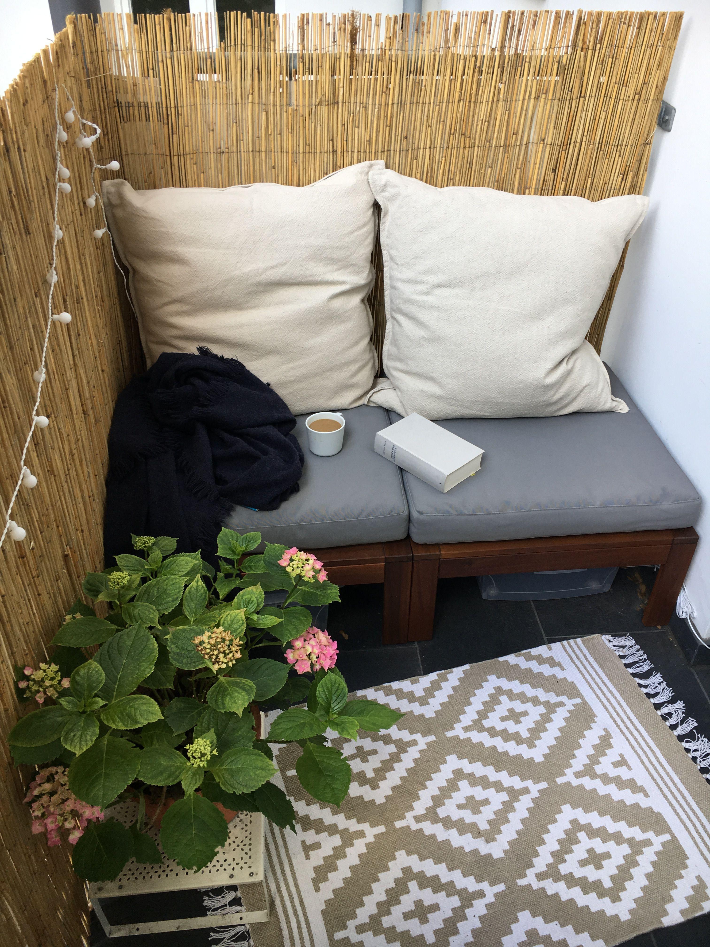 Little balcony Kleiner Balkon Lounge Ikea Äpplarö | Balkon ...