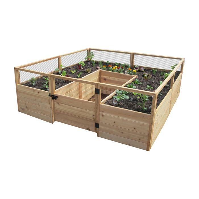 Hochbeet Bauen Beflanzen Gartenideen Diy Ideen Holz Vorgarten Weg