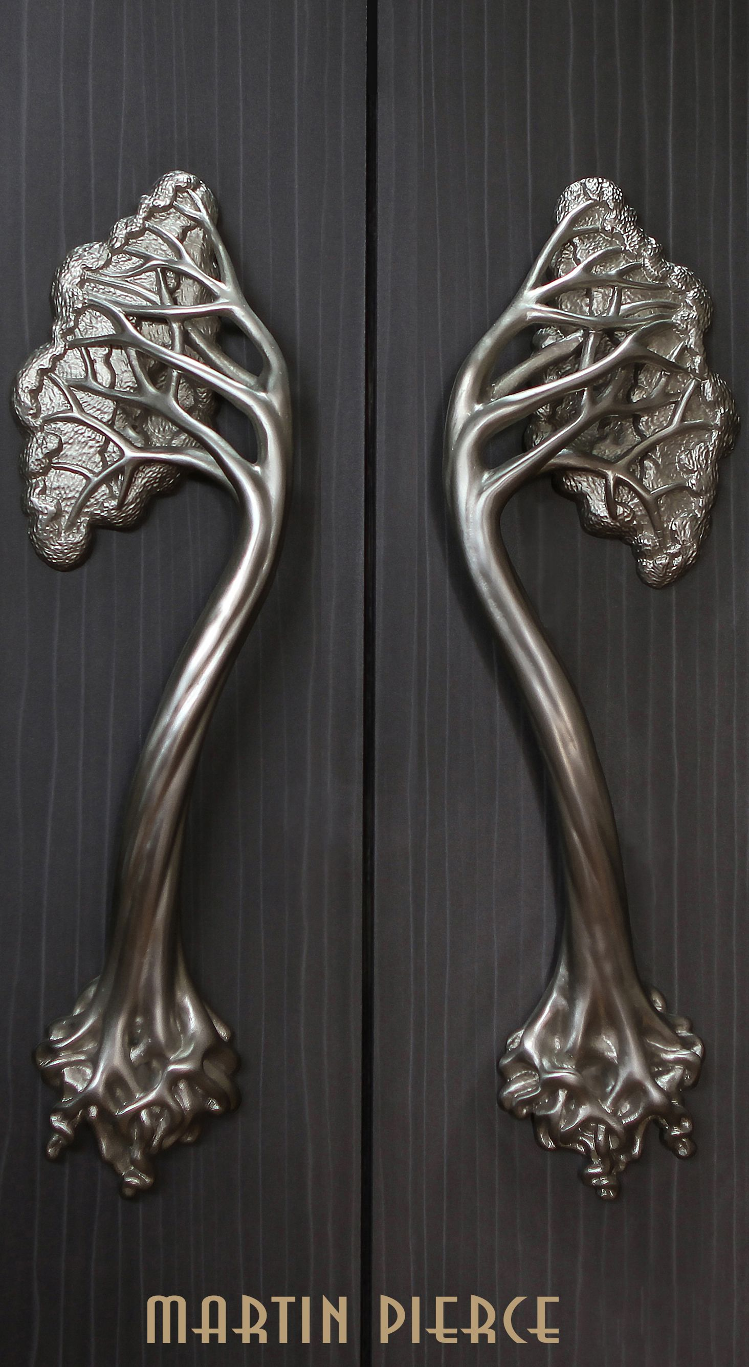 Designed And Made In Los Angeles By Martin Pierce Door Handle