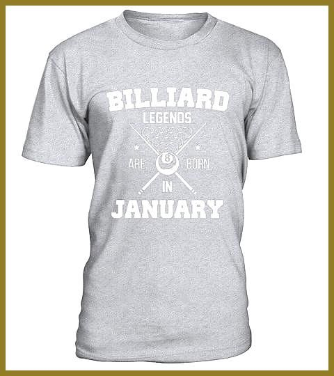 Billiard Lovers January Happy Birthday Shirt Special Offer not available in shops Comes in a variety of styles and colours Buy yours n Billiard Lovers January Happy Birth...