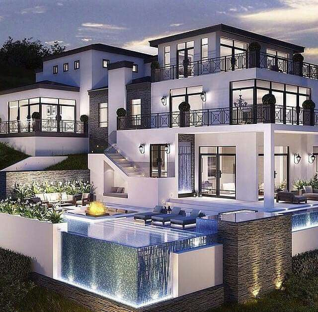 Large Luxury New Construction Homes: Now This Is A Dope Ass Crib...