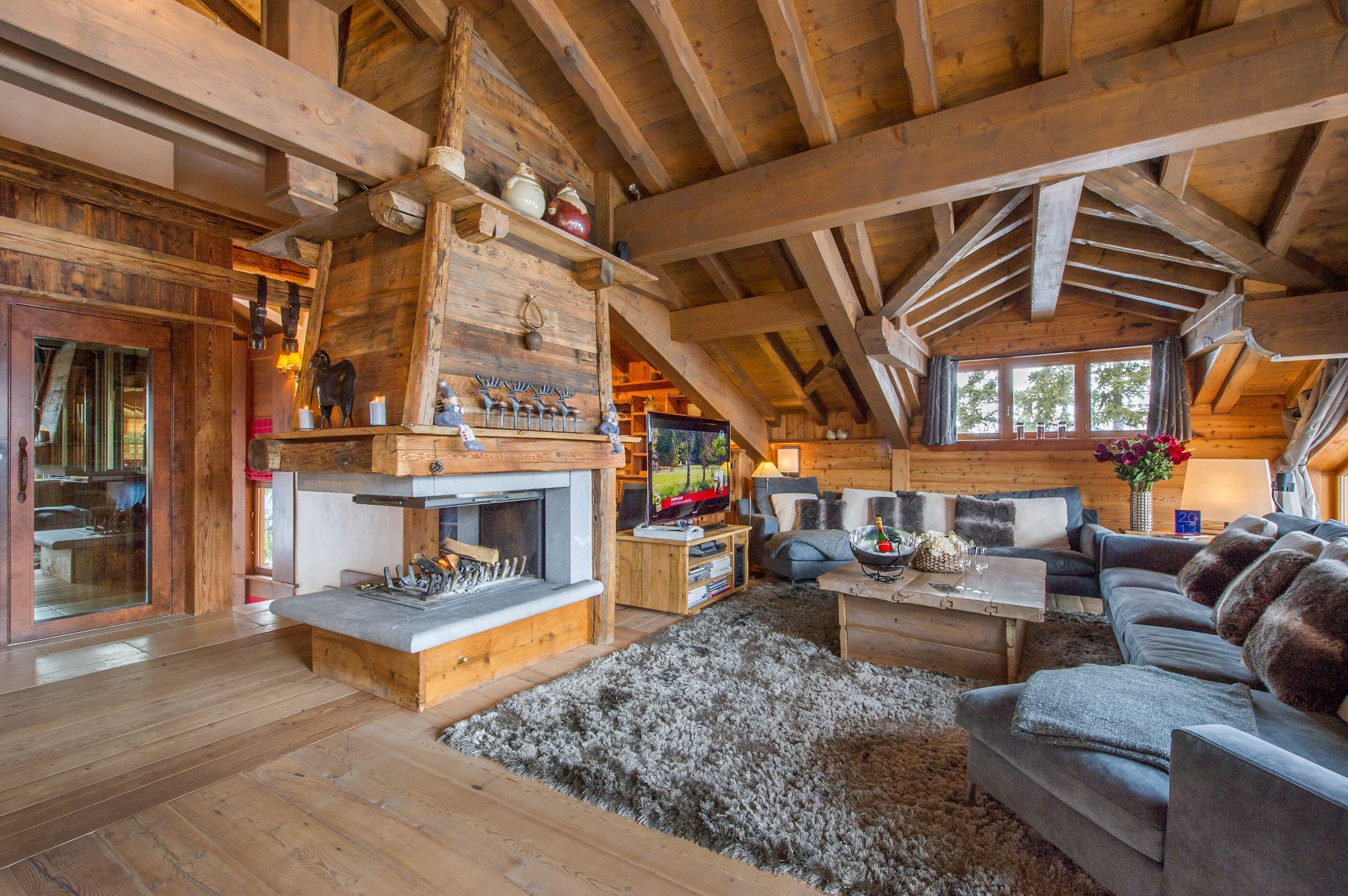 Interieur chalet | Chalet et montagne | Pinterest | Haus bauen und ...