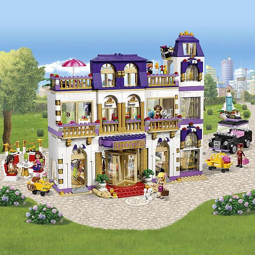 Lego Friends Heartlake Grand Hotel 41101 Lego Friends Lego Friends Sets Grand Hotel