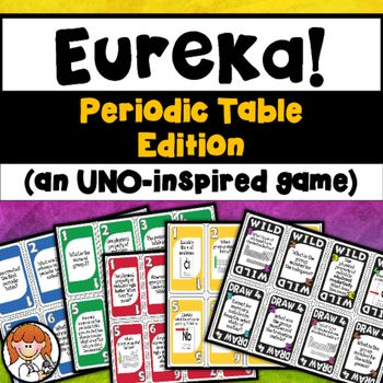 Periodic table uno inspired game free physci matter pinterest periodic table uno inspired game free urtaz Choice Image