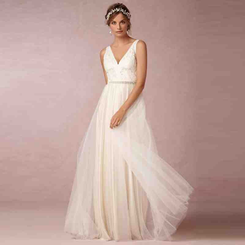 White Beach Wedding Dresses Casual | white wedding dresses ...