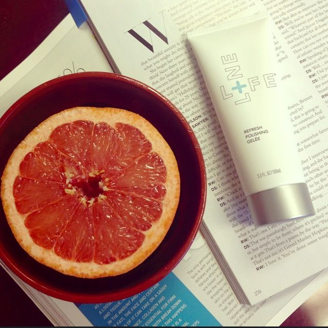 Your Skin's Wake-Up Call - Introducing NEW Refresh Polishing Gelée. You'll love its uplifting scent of natural grapefruit seed oil. Try it today: http://bit.ly/RPGelee. ‪#‎skincare‬ ‪#‎skinwakeupcall‬