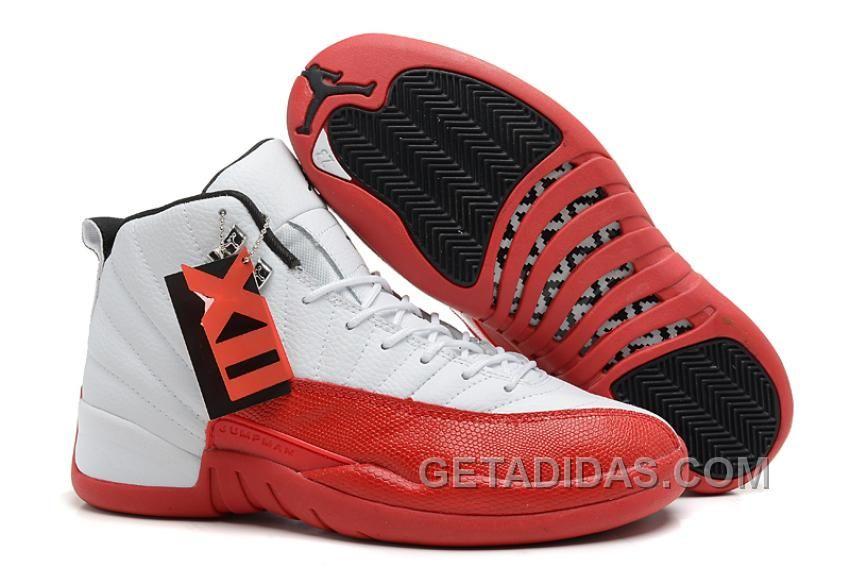 e7be0c0fe30295 Air Jordans 12 Retro White Varsity Red-Black Super Deals DA2SCt