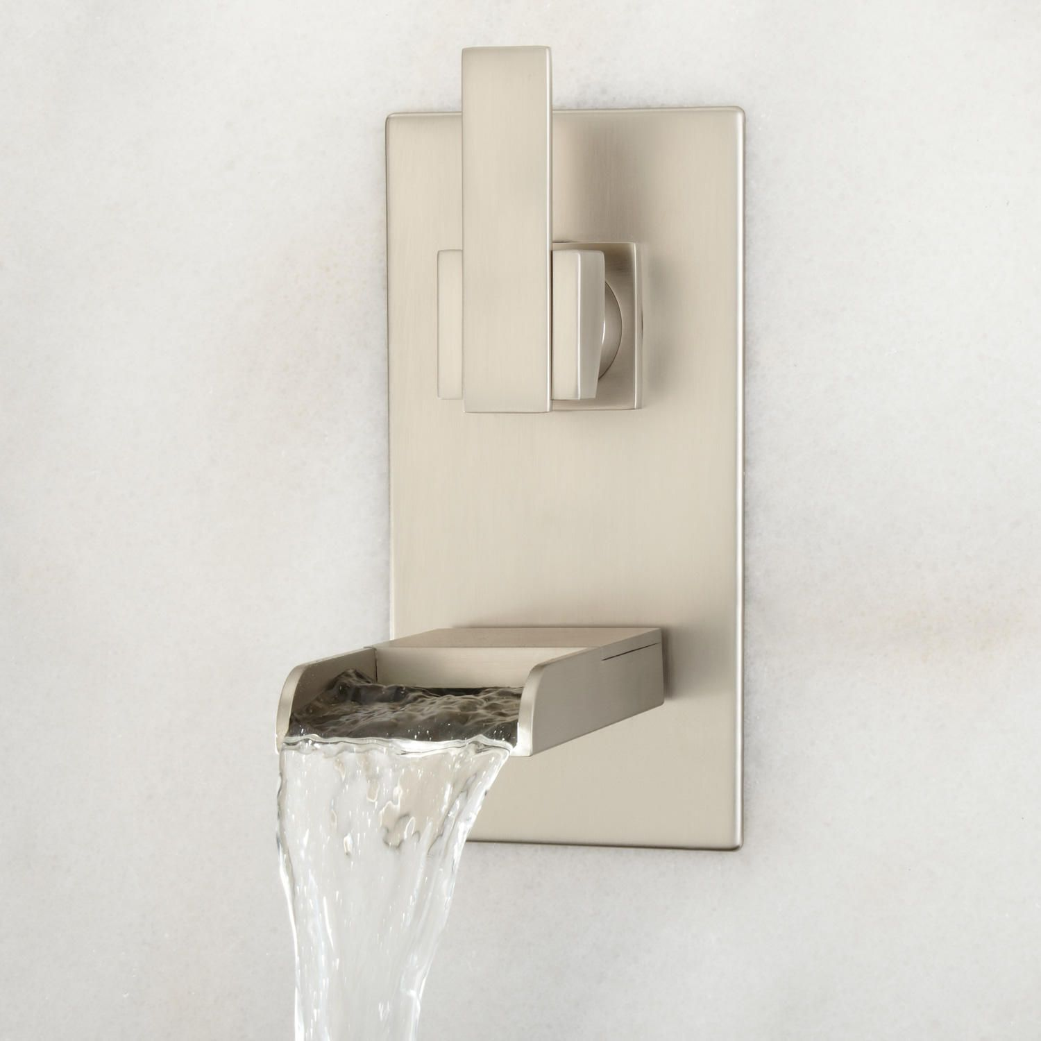 Willis Wall Mount Bathroom Waterfall Faucet No Overflow