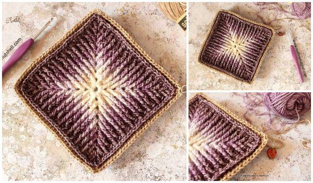 Crochet Element Cal Free Crochet Pattern -Video #crochetelements