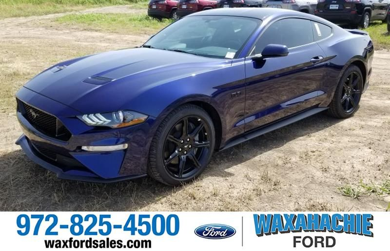 Brand New 2019 Ford Mustang Gt Kona Blue With Black Accent Package Ford Mustang Gt Konablue Waxahachieford Waxahac Ford Mustang Gt New Trucks Ford