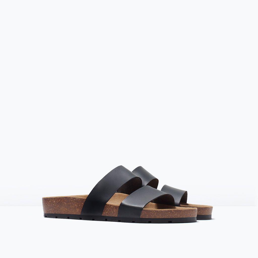 Boutique Tendencias Zara: Sandalias Romanas Planas Y De