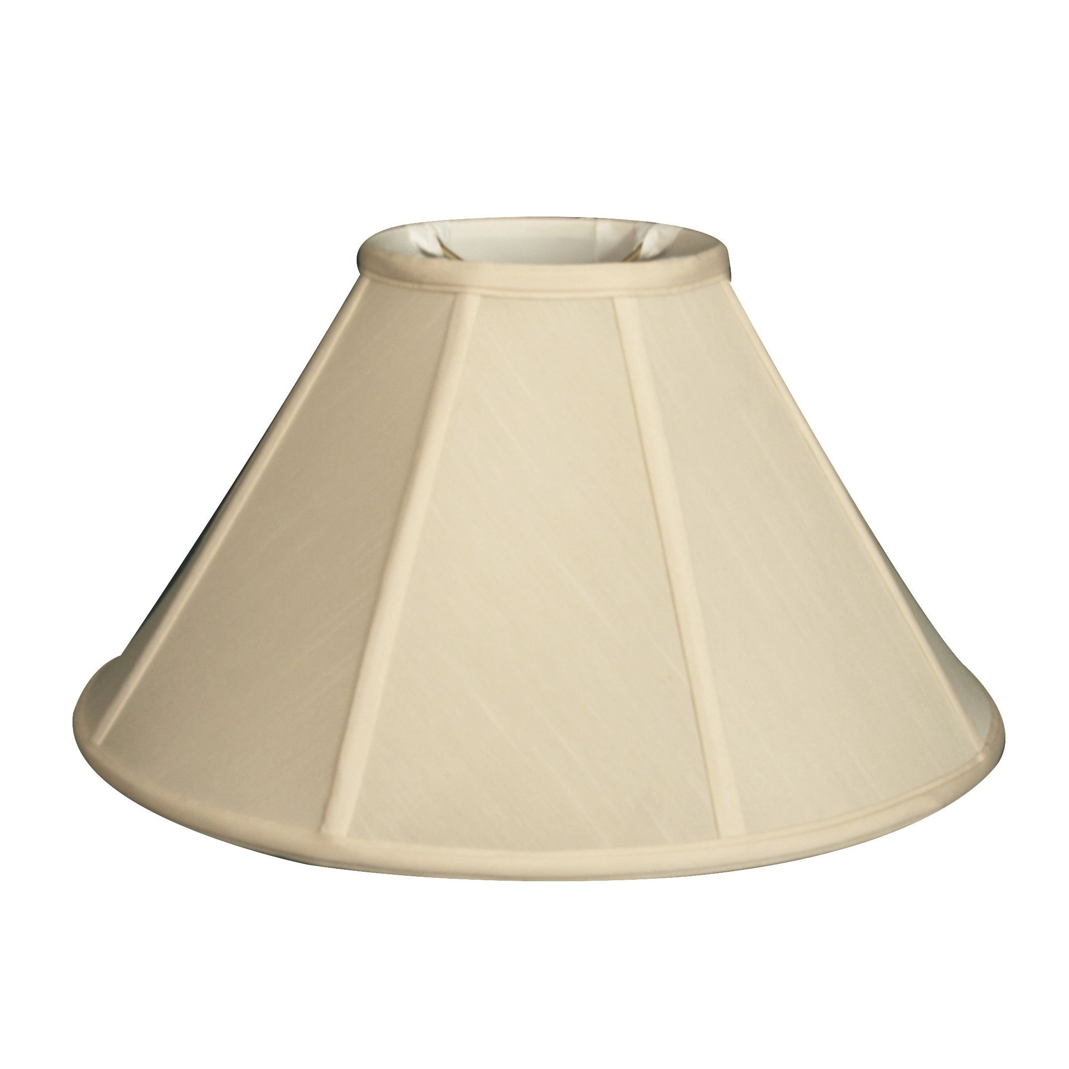 Royal Designs Empire Lamp Shade Eggshell 4 5 X 12 X 7 5 Color Beige Off White Brass Products Light Shades Shades Royal Design