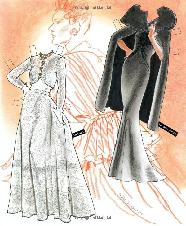 THE EXTRAVAGENCE OF THE 1910s Paper Doll Book by Jim Howard COUTURE Volume 5