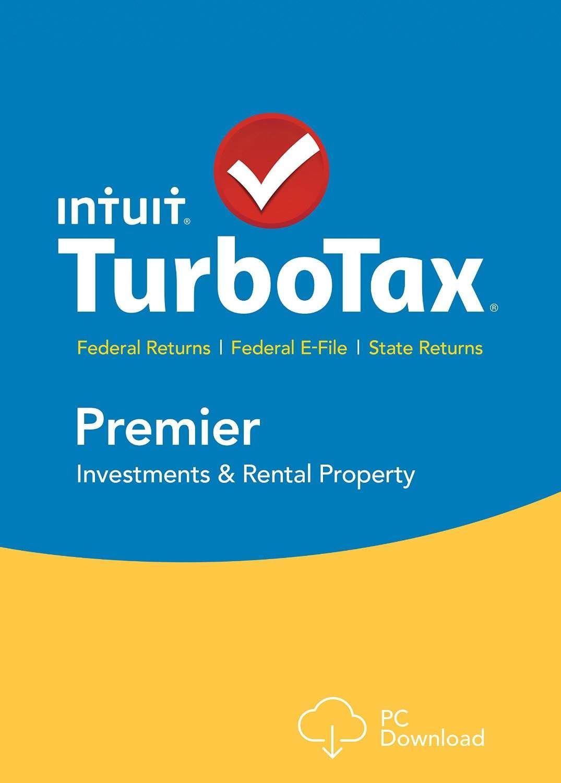 Turbotax Premier Federal Tax Preparation Software