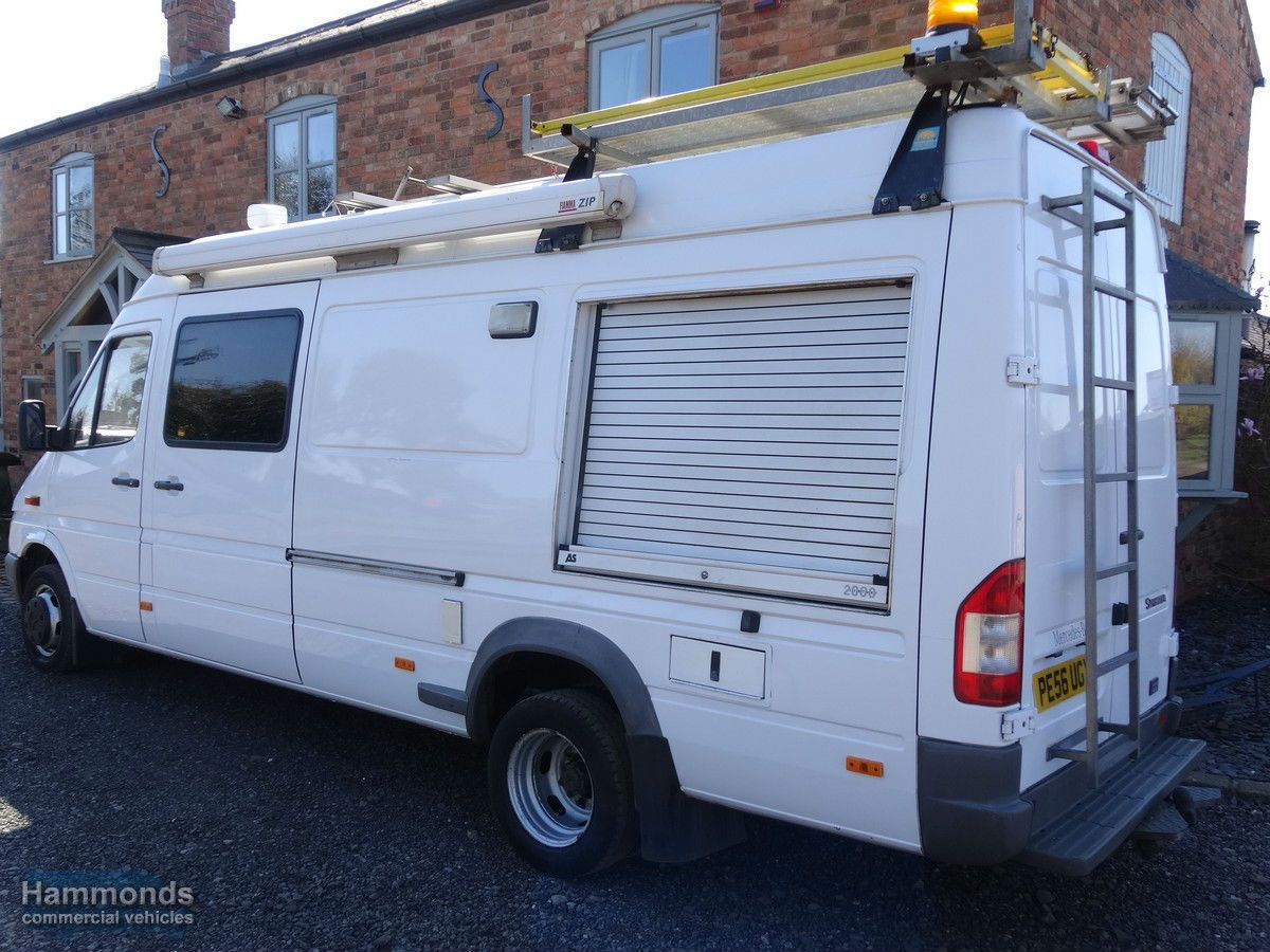 2007 Mercedes Sprinter 416 LWB Would Make A Good Camper Expedition Overland Truck