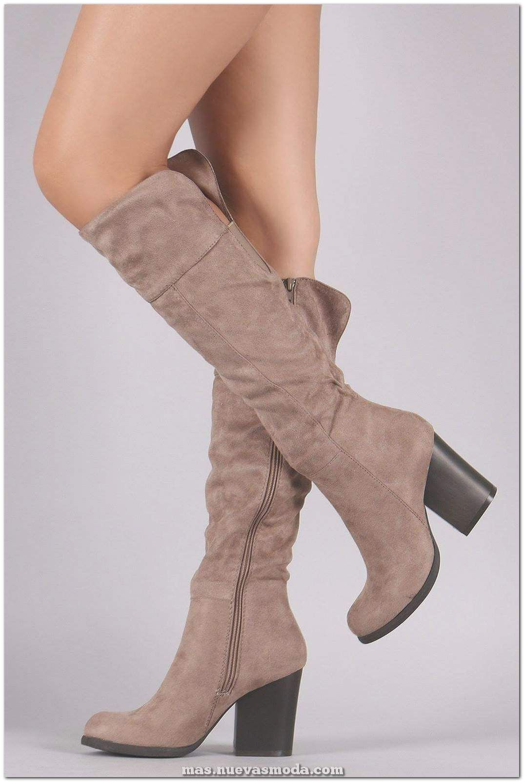 Más de 60 fabulosas botas hasta la rodilla para mujeres para